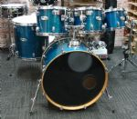 MAPEX M BIRCH  6-PIECE ROCK KIT TRANSPARENT SAPPHIRE